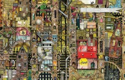 Colin Thompson - Fantastic Cityscape - 1000pc Puzzle