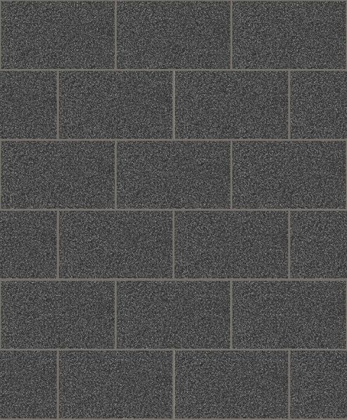 Crown London Tile Black Wallpaper