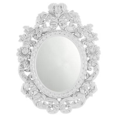 InfiniBaroque Mirror, White