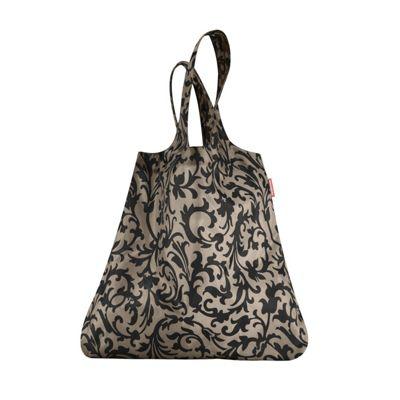 Reisenthel Mini Maxi Shopper Foldup Shopping Bag, Baroque Taupe AT7027