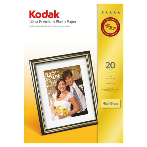 Kodak Ultra Paper A4 20 pk