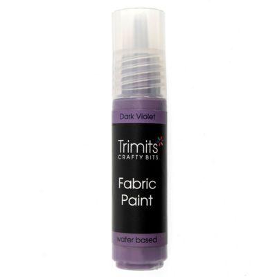 Trimits Fabric Paint Pen Dark Violet 20ml