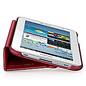 "Samsung Book Cover For Tablet 3 7"" - Garnet red Smart and Slim - EF-BT210BREGWW"