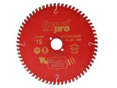 Freud Pro Cross Cutting Saw Blade 216 x 30mm x 64T