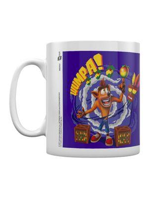 Crash Bandicoot Wumpa 10oz Ceramic Mug, White