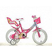Disney Princess 14inch Balance Bike Pink - DINO Bikes