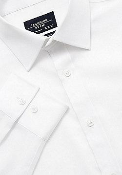 F&F Non Iron Regular Fit Shirt - White