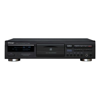 TEAC-CDRW890MK2B CD Recorder with Advanced Auto-Record Functions in Black