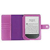 Kindle Paperwhite 2015 Purple Faux Leather Case