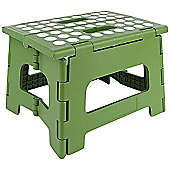 Kikkerland Rhino Folding Footstool in Green, Holds 135kg ZZ12-G