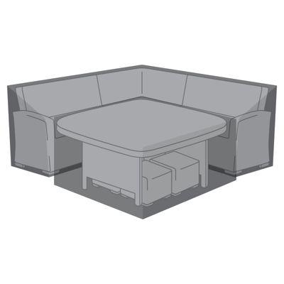 Nova Large Corner Dining Set Outdoor Garden Furniture Cover