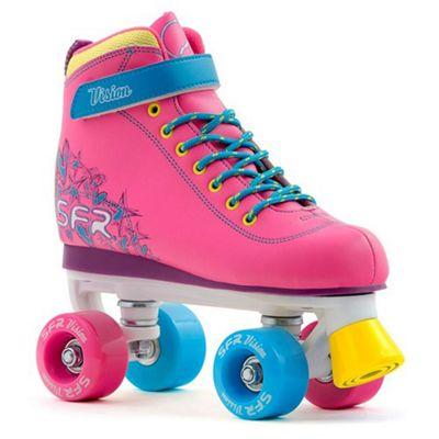 SFR Vision II Tropical Kids Quad Roller Skates UK 1