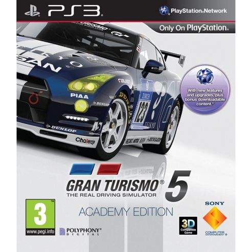 Gran Turismo 5 - Academy Edition