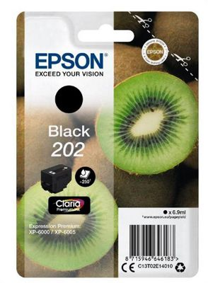 Epson 202 6.9ml 250pages Black ink cartridge 250 pages