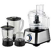 Brabantia BBEK1113 1000W Food Processor - Brushed Stainless Steel