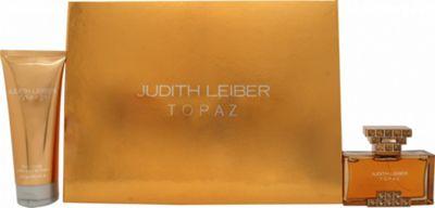 Judith Leiber Topaz Gift Set 40ml EDP + 100ml Body Lotion For Women