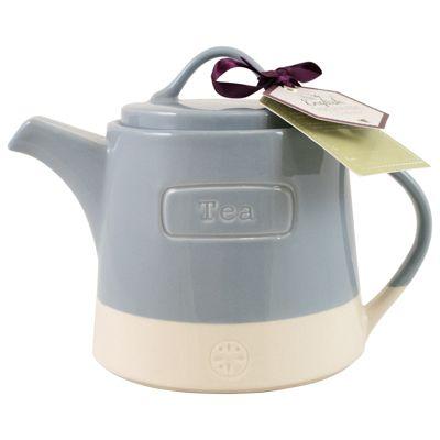 English Tableware Co. Artisan Teapot, Blue