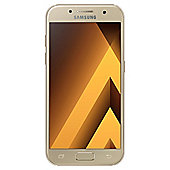 Tesco Mobile Samsung Galaxy A3 Gold (2017)