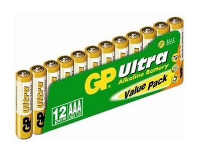 GP Batteries Ultra Alkaline AAA 1.5V non-rechargeable battery