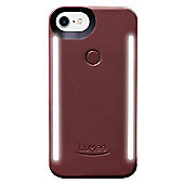 LuMee Duo LED Phone Selfie Case For iPhone 6/6S/7/8│LD-IP8-PLM│Plum Noir