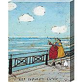 Sam Toft Her Favourite Cloud Canvas Print