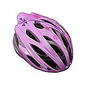 Giant Ares Womens Pink Flowers Road Bike Helmet 58-61cm