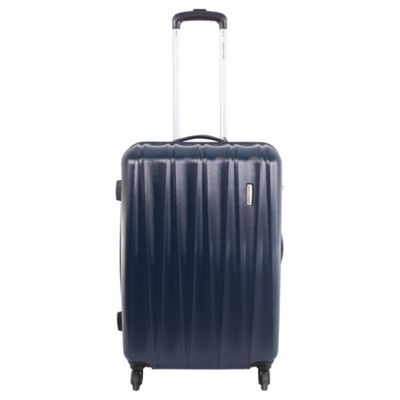 Pierre Cardin Ria ABS Medium Trolley Case - Navy
