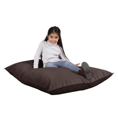 Lounge Pug® Junior Childrens Beanbag - Velvet Graphite Grey