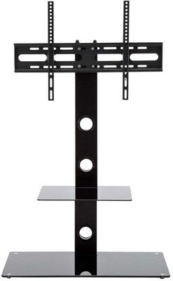 MMT Black Cantilever TV Stand for up to 55 inch TVs