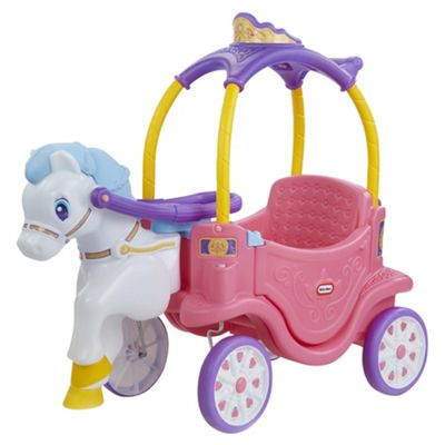Little Tikes Princess Horse & Carriage Cozy Coupe Car Ride On