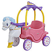 Little Tikes Princess Horse & Carriage Coupe