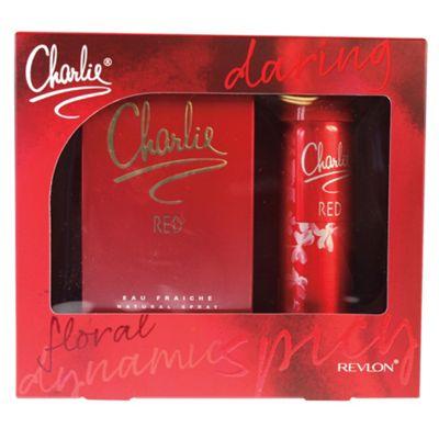 Charlie Red 100ml Eau de Toilette Gift Set