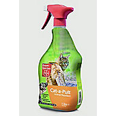 Bayer Garden Cat-A-Pult Animal Repellent - 1L Spray Bottle