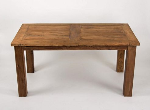 1.6m Reclaimed Teak Mexico Dining Table