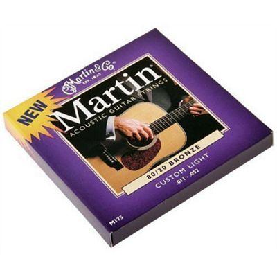 Martin Custom Light Acoustic Bronze Set of Strings