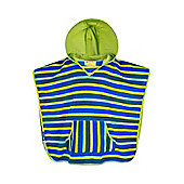 Mountain Warehouse Sandy Kids Beach Cape - Blue