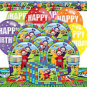 Teletubbies Party Pack - Deluxe Party for 8