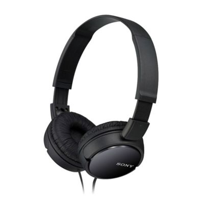 SonyMDRX110B Overhead Headphones Ideal for Music with Wired Connection