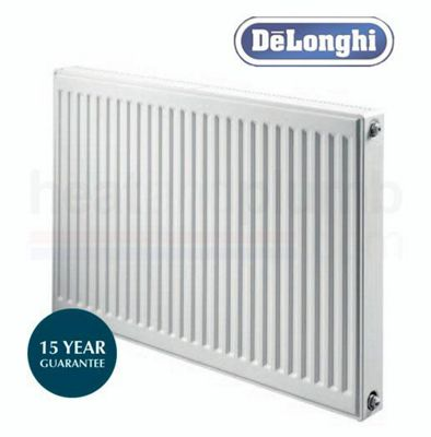 DeLonghi Compact Radiator 600mm High x 600mm Wide Double Convector