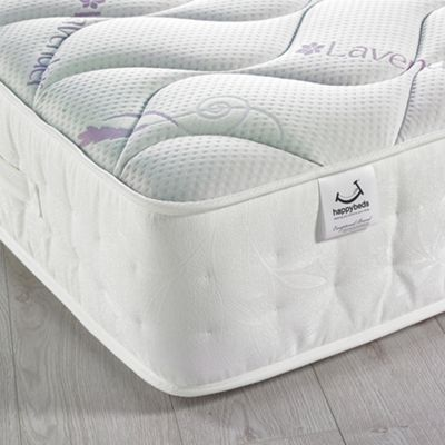 Happy Beds Lavender Scented 3000 Pocket Spring Memory Foam Mattress - 2ft6 Small Single