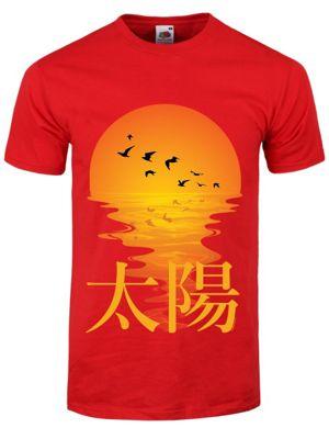 Oriental Sunset Red Men's T-shirt
