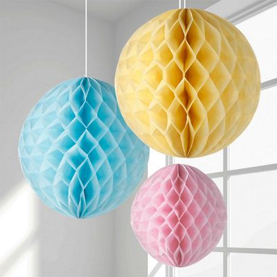 Pastel Honeycombs - 20cm