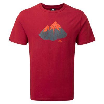 Mountain Equipment Mens Polygon T-Shirt Henna XL