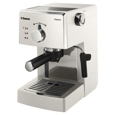 Philips Saeco HD8323/88 Poemia Coffee Machine - White