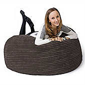 Lounge Pug™ Mammoth Cord Bean Bag - Graphite