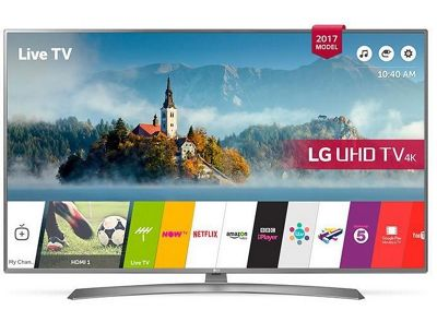 LG 65UJ670V 65 Inch HDR Pro Ultra Slim with crescent stand