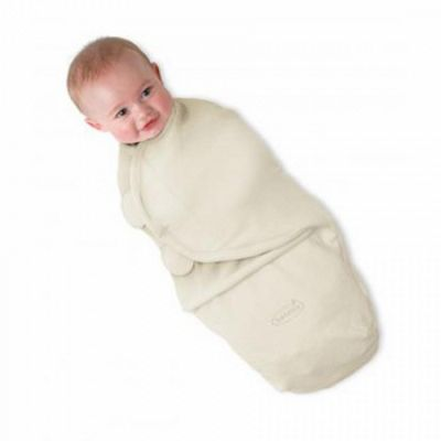 Summer Infant Small SwaddleMe Microfleece - Ivory