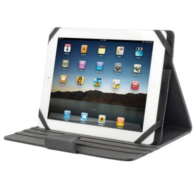 NGS Codex Plus Kit 10 Inch Universal Cover/Stand with 3 Positions for iPad and Galaxy Tab 10.1 Tablets, Black (942797)