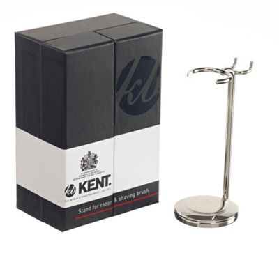 Kent VSB11 Nickel Plated Brush and Razor Stand