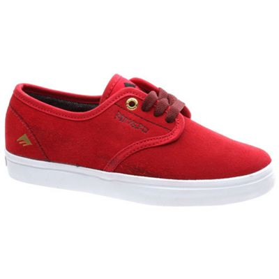 Emerica Laced by Leo Romero Red/White Youths Shoe